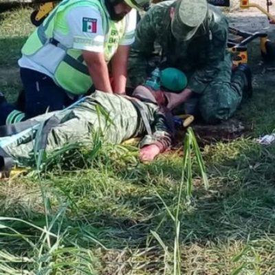 Cobra vida de un militar enfrentamiento contra presuntos 'huachicoleros' en Tabasco