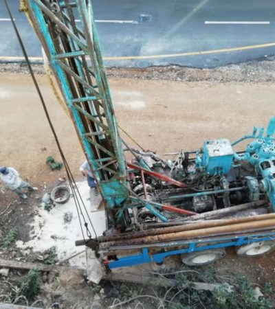 Vecinos se quejan de obra 'sin sentido' en Xcalacoco