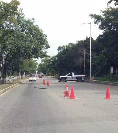 Tras balconeo, retiran patrullas inservibles de retenes en Chetumal