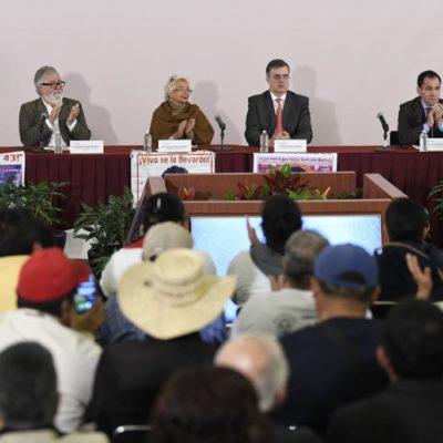 PADRES DE NORMALISTAS PIDEN COMPROMISO Y SERIEDAD: Instalan Comisión de la Verdad para el caso Ayotzinapa