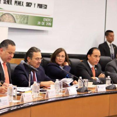 Descartan Rocío Nahle y Octavio Romero que cerrar ductos de Pemex haya sido una 'ocurrencia'