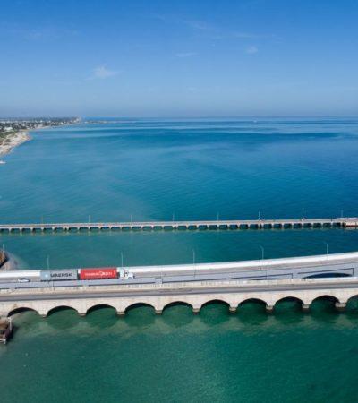 Libra península de Yucatán desabasto de combustibles; llegan vía marítima y terrestre, no por ductos
