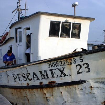 Continúa extraviado el pescador que cayó al mar el domingo durante el Frente Frío 31 en Yucatán