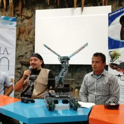 Invitan al mes de la robótica, mecatrónica y electrónica en el planetario Sayab de Playa del Carmen
