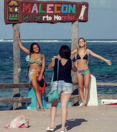 Rompe Puerto Morelos récord en llegada de turistas en 2018