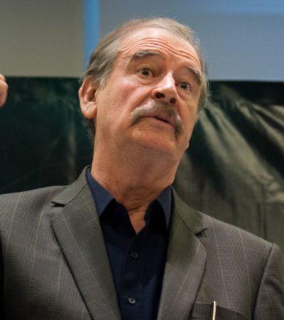 Llama Vicente Fox 'remedo de chachalaca' a AMLO por dichos sobre gestión del expresidente panista