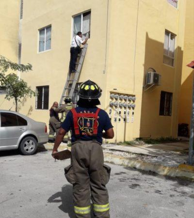 Rescatan a niño de 4 años abandonado en departamento de la Región 251
