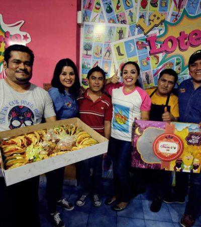 Si lo tuyo no es el pan, se vende en Cancún la 'Rosca de Tacos' ¡con todo y muñequito!