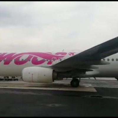 Inauguran la ruta de vuelo Hamilton-Cancún, con la que se espera que 10 mil canadienses visiten el Caribe Mexicano