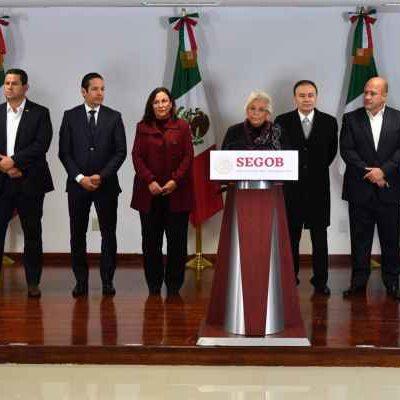 Respaldan gobernadores estrategia federal en combate contra 'huachicoleo'