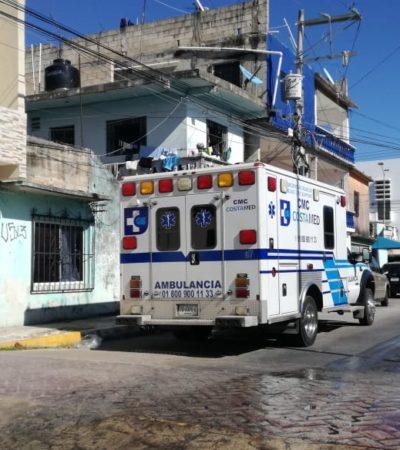 Ingiriendo cloro, mujer víctima de violencia intrafamiliar intenta suicidarse por tercera vez en Playa del Carmen