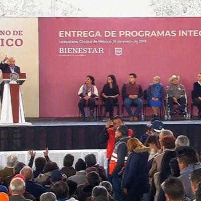 LA IDEA ORIGINAL FUE DE PEÑA NIETO: Anuncia López Obrador 1 millón de 'Tandas para el Bienestar'