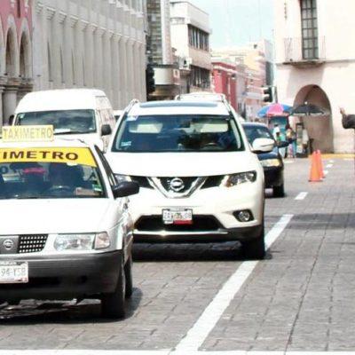 Suspenden concesiones a 593 taxis de Yucatán por irregularidades en asignación durante sexenio anterior