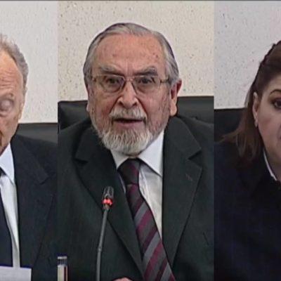 GERTZ, BÁTIZ Y DE GYVES: Recibe el Senado la terna de AMLO para la Fiscalía General de la República