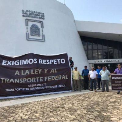 Anuncia la Asociación Movimiento TOUR que autoridades estatales respetarán la Ley Federal de Transporte