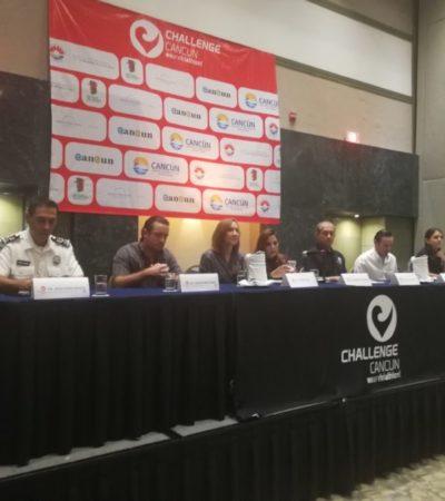 Anuncian el triatlón 'Challenge Cancún' con la participación de mil 500 deportistas