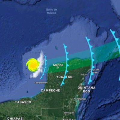 Aclara meteorólogo la razón por la que Yucatán libró la turbonada que impactó a Quintana Roo y Cuba