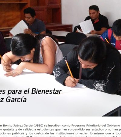 Abren preinscripciones para universidades en Tihosuco y Kantunilkín