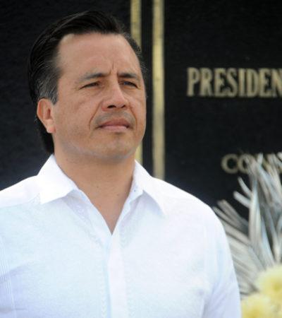 Descarta Cuitláhuac García presencia de autodefensas en el Puerto de Veracruz