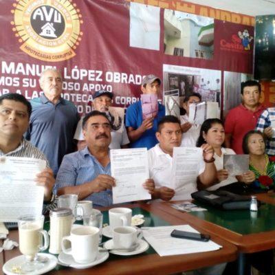 Playenses piden a AMLO que intervenga contra abusos hipotecarios