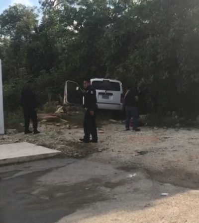 Tras persecución y balacera, detienen a presunto sicario en la SM 201 de Cancún