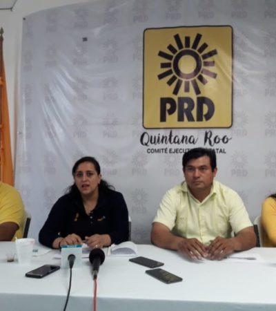Descarta PRD alianza con PRI, PVEM y Morena