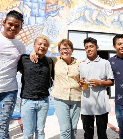Arranca en Solidaridad, al mismo tiempo que a nivel federal, el programa 'Jóvenes Construyendo el Futuro'