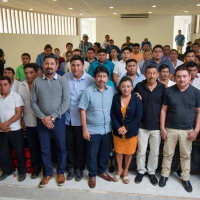 Capacitan a delegados y subdelegados de Tulum para el desempeño de sus funciones