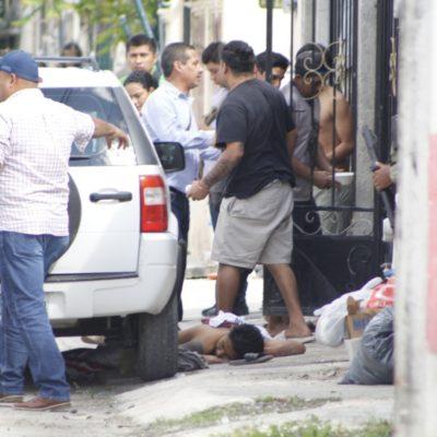 ATAQUE A BALAZOS EN LA REGIÓN 219: Rafaguean vivienda en Cancún con saldo de dos personas heridas