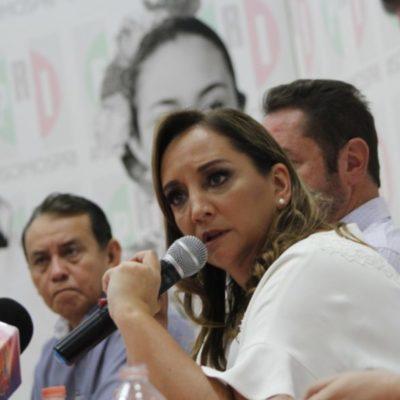 """""""HABRÁ PISO PAREJO"""": Asegura Claudia Ruiz Massieu que  se aplicarán los lineamientos a todos las personas que busquen contender en la elección con el PRI"""