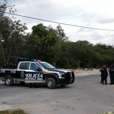 Con varios disparos, hallan otro ejecutado en el fraccionamiento Azul Bonampak de Cancún