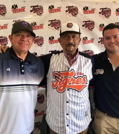 SE REFUERZAN PARA EL ARRANQUE DE LA TEMPORADA: Presentan a Jesús Sommers como nuevo manager de los Tigres de Quintana Roo