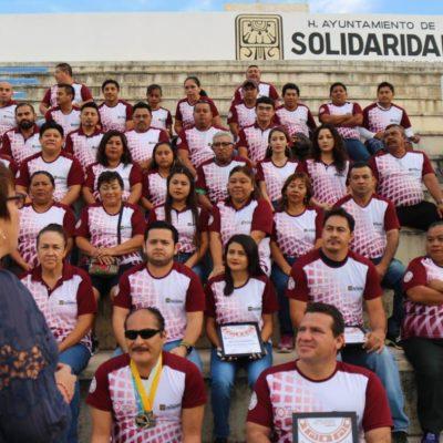 Reconoce Alcaldesa a lo mejor del deporte en Solidaridad