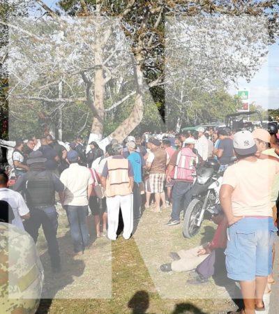 PERSECUCIÓN Y BALAZOS EN LEONA VICARIO: Sicarios atropellan y matan a un triciclero durante intento de fuga; hay un herido detenido y 3 presuntos prófugos