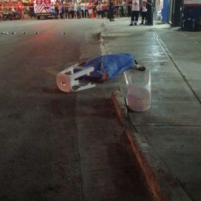 Ejecutan a balazos a un hombre en el poblado de Puerto Aventuras