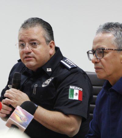 EL 'PAPELÓN' DE CAPELLA EN HD: El secretario de Seguridad Pública llega a conferencia con camarografo que graba sus 'traspiés' para hacer funcionar el Mando Único en Cancún