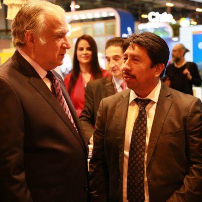 Realiza Víctor Mas Tah intensa promoción de Tulum en Fitur 2019