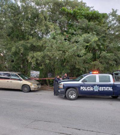 Asaltan a mano armada a contratista en la SM 502 de Cancún