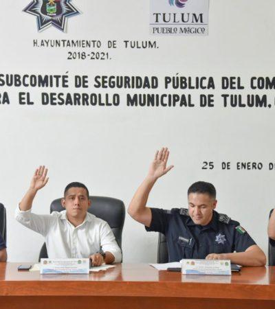 Regularizarán a elementos policíacos y los dotarán de mejor infraestructura en Tulum