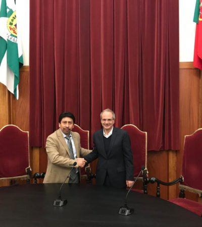 Promueve Víctor Mas inversión de Portugal para Tulum