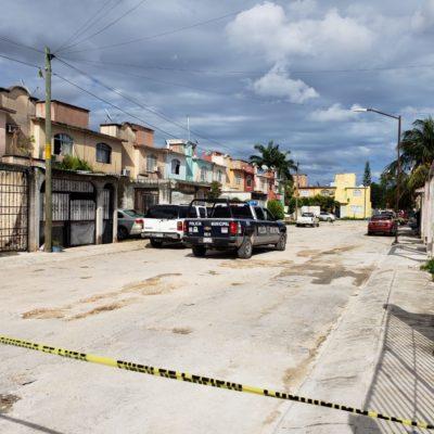 ATAQUE A BALAZOS EN LA SM 200: Un muerto y un menor lesionado en una vivienda del fraccionamiento Hacienda del Caribe en Cancún