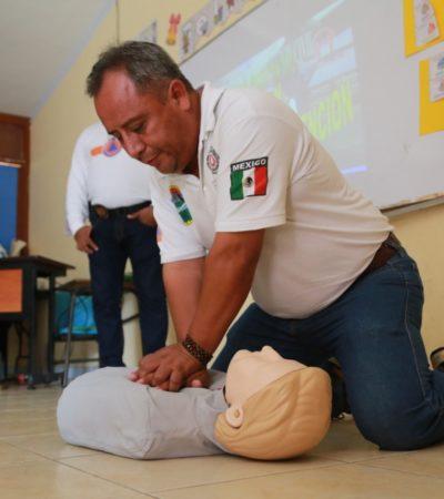 Capacitan a delegados y subdelegados de la Zona Maya de Tulum