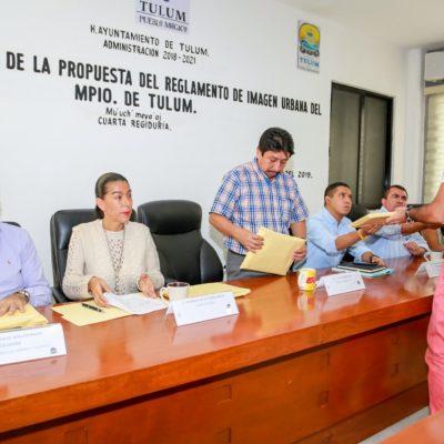 Presentan empresarios propuesta de Reglamento de Imagen Urbana para Tulum