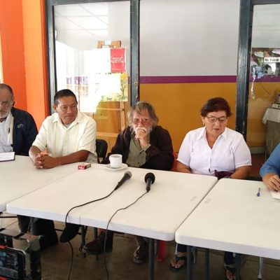 """""""QUE NO SE LLENEN LOS PUESTOS CON ARRIBISTAS"""": Militantes de Morena en OPB rechazan """"aberrante"""" alianza con PT y PVEM"""