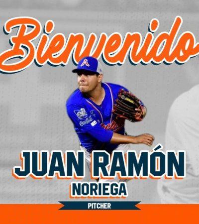 TIGRES SE SIGUE REFORZANDO: Juan Ramón Noriega, al 'bullpen' felino