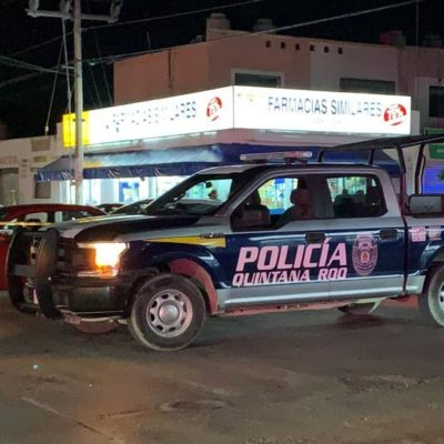 ATACAN A BALAZOS A DOS POLICÍAS ESTATALES: Ejecutan a taxista y tirotean a agentes que custodiaban domicilio asegurado en el fraccionamiento Andalucía de Cancún