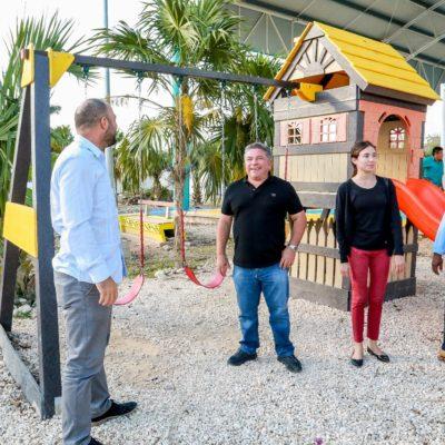 Con inversión de 7.8 mdp, Ayuntamiento de Tulum entrega obras en la comunidad de San Juan de Dios