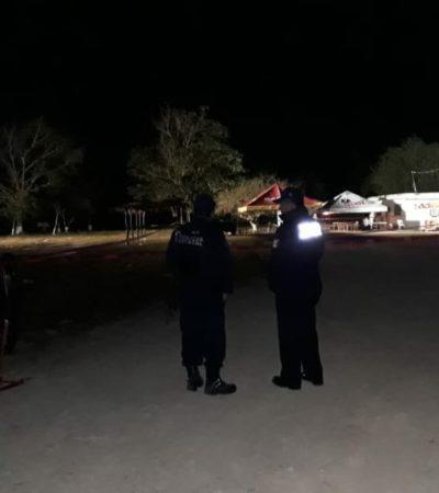 Asesinan a hombre durante feria en Xul Ha