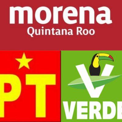 Rompeolas Extra: Alianza parcial en 14 distritos entre Morena-PT-PVEM; los verdes tendrían sólo dos distritos.