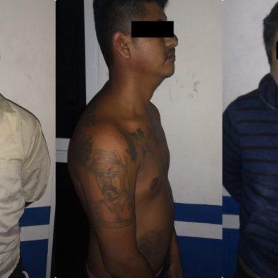 IMPIDEN ASALTO A GASOLINERA EN PLAYA: Detienen a tres de cinco delincuentes